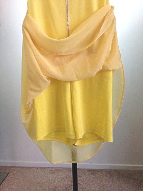 Unbranded short dress Yellow on Tradesy Image 2