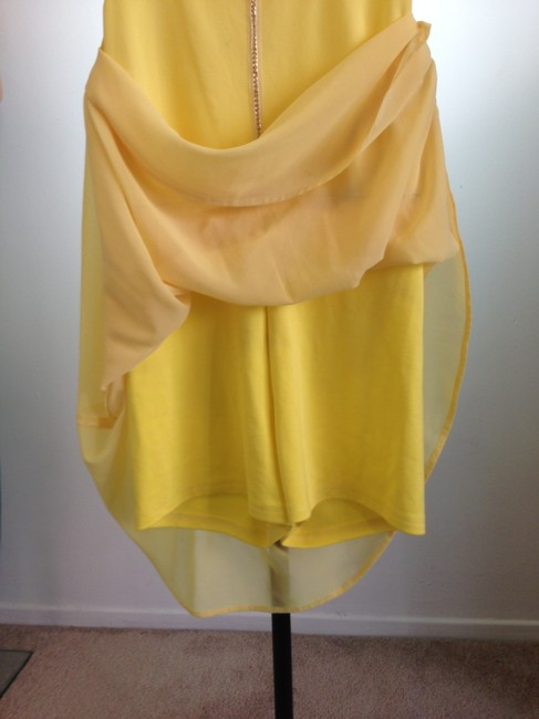Unbranded short dress Yellow on Tradesy Image 3