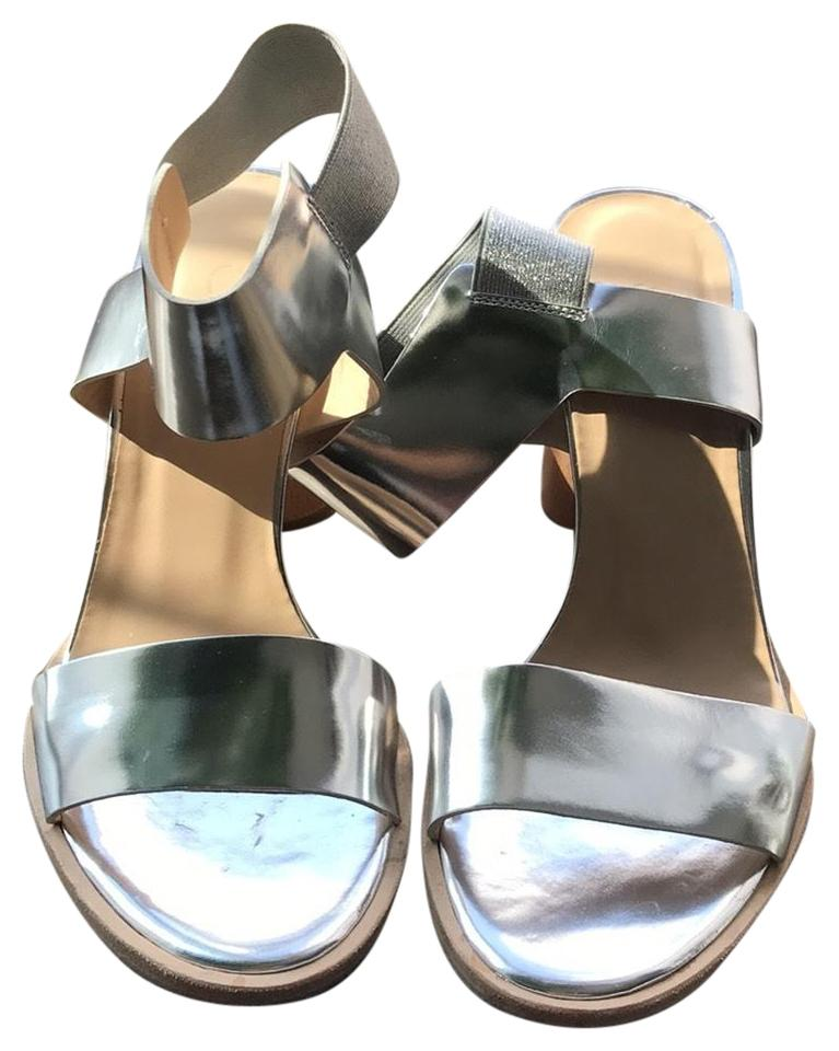 Cos Regularmbtradesy 6 Size Silver Svzqumpg Us Sandals q5LRc34SAj