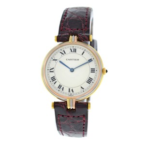 Cartier Lady Cartier Trinity Vendome Paris 18K Yellow White Rose Gold 30MM