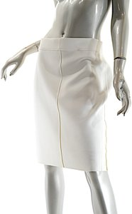Reed Krakoff Structured Pull On Skirt White