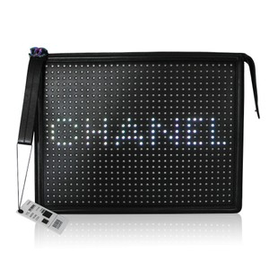Chanel Led Black Clutch