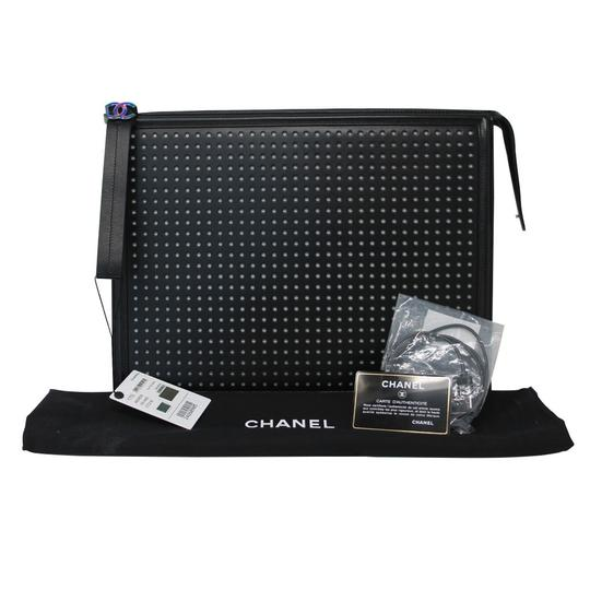 Chanel Led Black Clutch Image 7