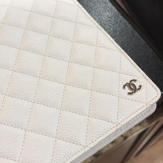 Chanel Chanel Quilted Caviar Agenda Cover