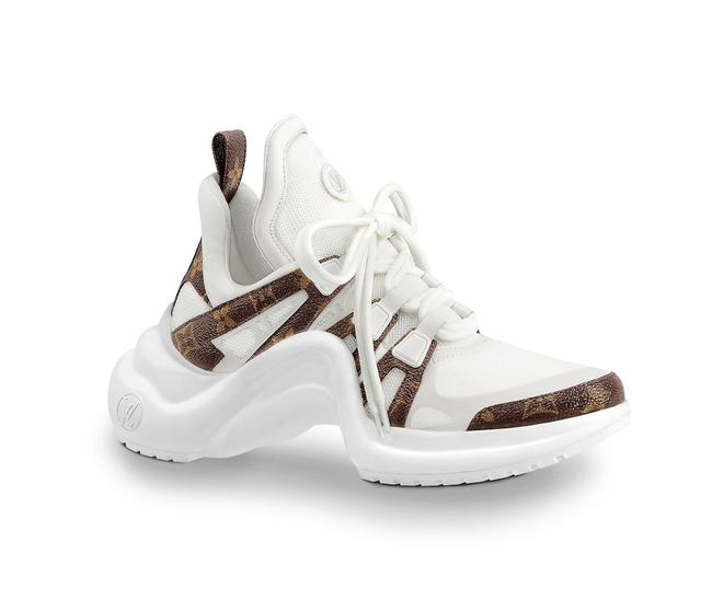 Louis Vuitton Monogram/White Runway Archlight Sneakers Size EU 36.5 (Approx. US 6.5) Regular (M, B) Louis Vuitton Monogram/White Runway Archlight Sneakers Size EU 36.5 (Approx. US 6.5) Regular (M, B) Image 1