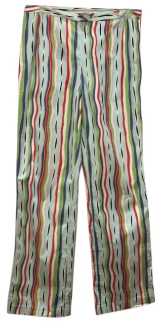 Item - Green/Red/Blue/White Multi -color Pants Size 8 (M, 29, 30)