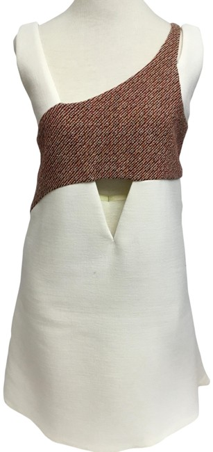 Preload https://item5.tradesy.com/images/dior-cream-sleeveless-with-burgundy-tweed-band-short-casual-dress-size-6-s-23710124-0-2.jpg?width=400&height=650
