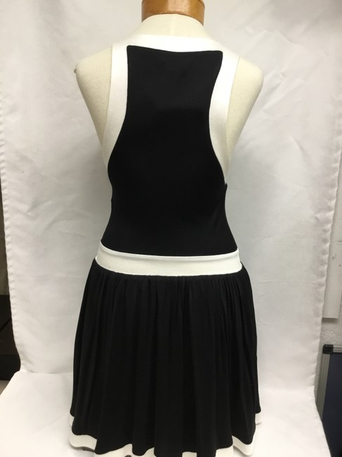 Balmain Black And White Sleeveless with Gold Buttons Short Casual Dress Size 4 (S) Balmain Black And White Sleeveless with Gold Buttons Short Casual Dress Size 4 (S) Image 5