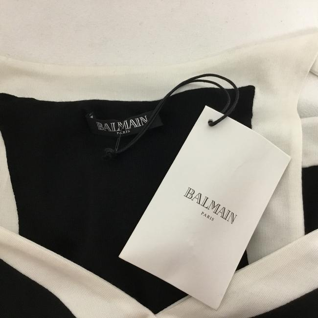 Balmain Black And White Sleeveless with Gold Buttons Short Casual Dress Size 4 (S) Balmain Black And White Sleeveless with Gold Buttons Short Casual Dress Size 4 (S) Image 8