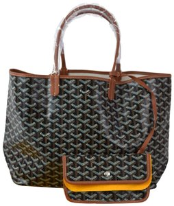 Goyard Gucci Paris Gg Tote in Black and Brown