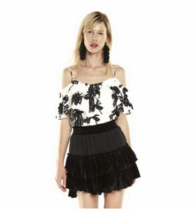 MISA Los Angeles Top Black/White