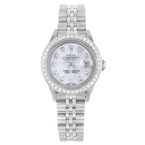 Rolex Rolex Datejust 69160 Custom Diamond White MOP Dial & Bezel (20046)