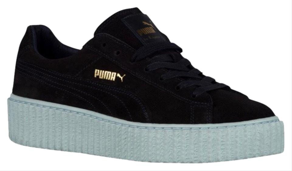 official photos 3774b 6d5c1 FENTY PUMA by Rihanna Peacoat/Peacoat/Cool Blue Suede Creeper Sneakers Size  US 5.5 Regular (M, B) 35% off retail