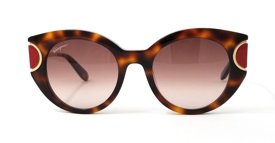 2e7732e0ed1 Salvatore Ferragamo Salvatore Ferragamo Sunglasses SF829S 207 Tortoise-Red  Butterfly Image 0 ...