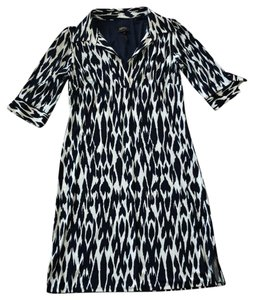Laundry by Shelli Segal short dress Navy and White on Tradesy