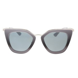 Prada NEW Prada SPR 55SS Cinema Evolution Grey Gradient Cat Eye Sunglasses