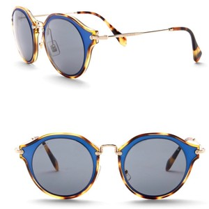 306e9aafde58 Blue Miu Miu Sunglasses - Up to 70% off at Tradesy (Page 2)
