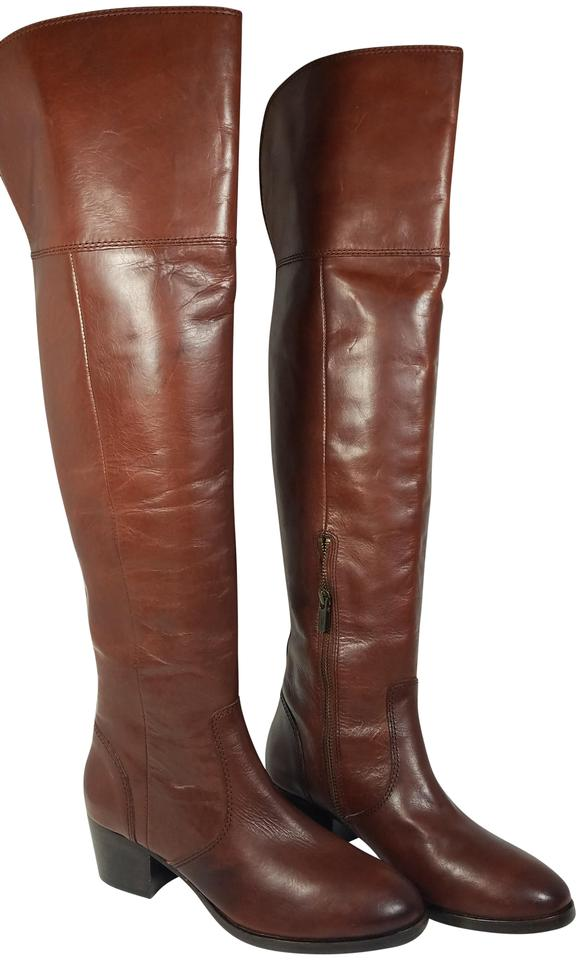 92d6650234a Frye Redwood Clara Over The Knee Otk Leather Boots Booties Size US 7 ...