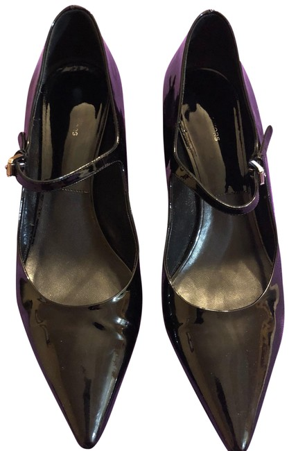 Item - Black Marney Runway Patent-leather Mary Jane Style #46t5mams1a Pumps Size US 9.5 Regular (M, B)