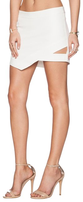 Item - Ivory Cut-out Skirt Size 2 (XS, 26)