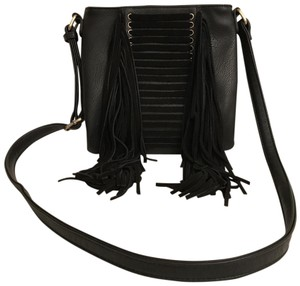 Antik Kraft Purse Handbag Shoulder Fringe Suede Cross Body Bag