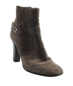 Tod's Ankle Suede Brown Boots