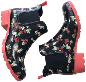 Cougar Blue Pink Boots