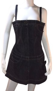 Alexander McQueen short dress Blue Denim on Tradesy