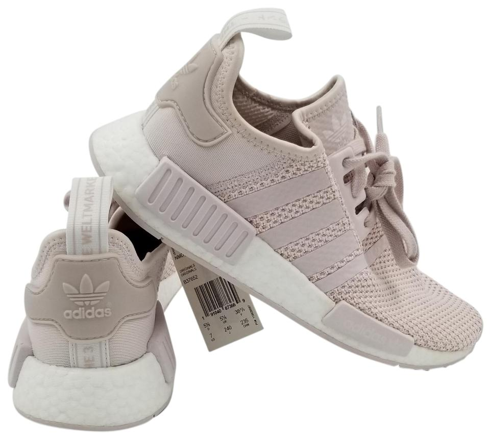 4a5459f928d2b adidas Orchid Tint Light Pink Nmd r1 Women s Running Style b37652 ...