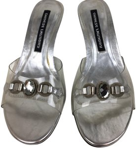 Chinese Laundry silver clear Formal