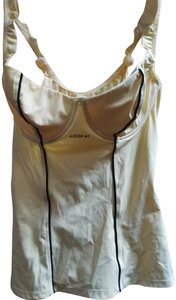 3e986653c7 Kookaï Sz 34 B Kookai yellow top with built-in bras and piping