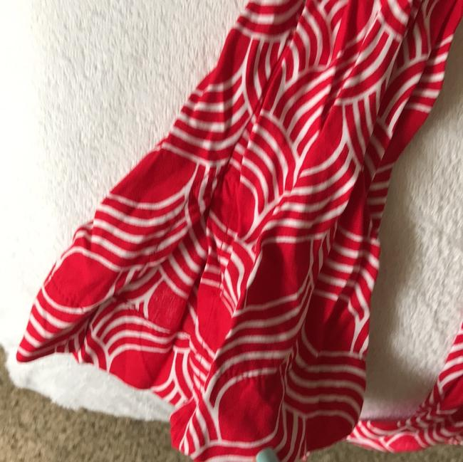 Escapada Living Top Red and white