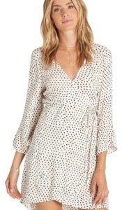 Billabong short dress back and white on Tradesy