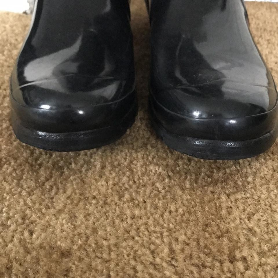 Gloss Black Boots Booties Hunter Tall EXqwS