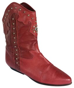 Zodiac Red Boots