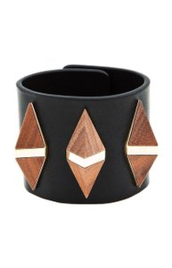Givenchy Wood & Gold Pyramid