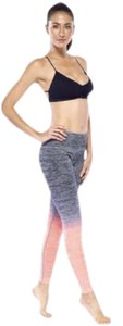 Electric Yoga 505119693-Faded Jersey Stretch Leggings