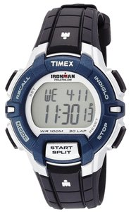 Timex Timex Male Ironman Watch T5K810 Grey-Blue Digital