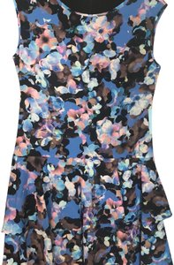 Cecico short dress Mixed blue floral on Tradesy