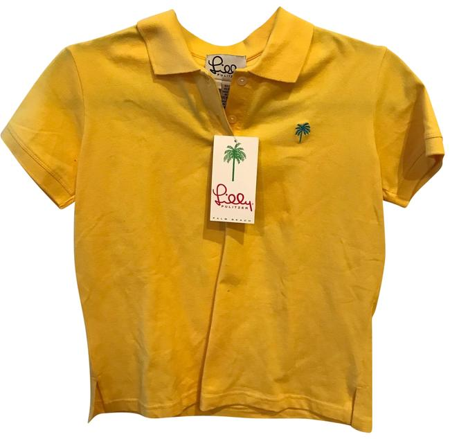 Item - Yellow Palm Classics Polo Tank Top/Cami Size 6 (S)