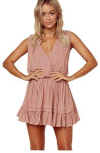 Indah short dress pink rose on Tradesy