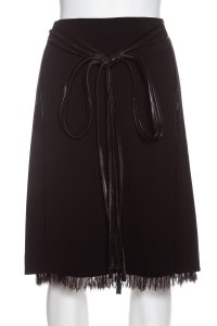 Jean-Louis Scherrer Skirt black