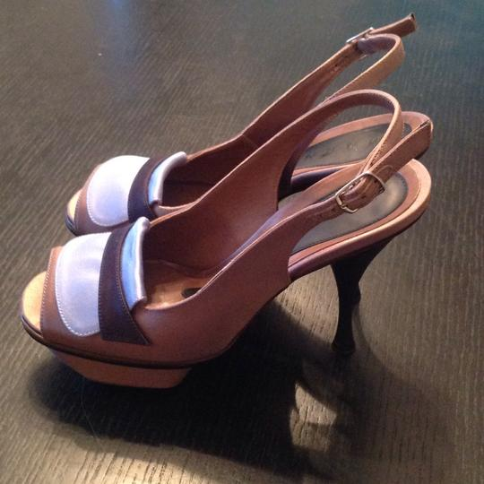 Marni light brown and blue Pumps