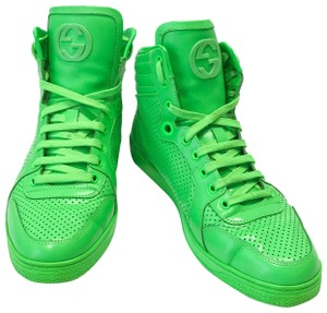 Gucci Neon Green Boots
