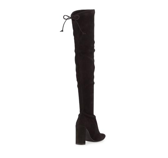 Stuart Weitzman Highchamp Suede Over-the-knee Over The Knee Black Boots Image 4