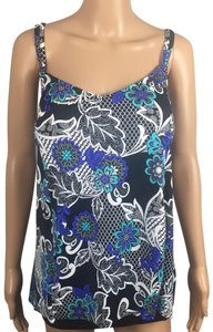 Swim Solutions Floral Bust Support Tankini Top