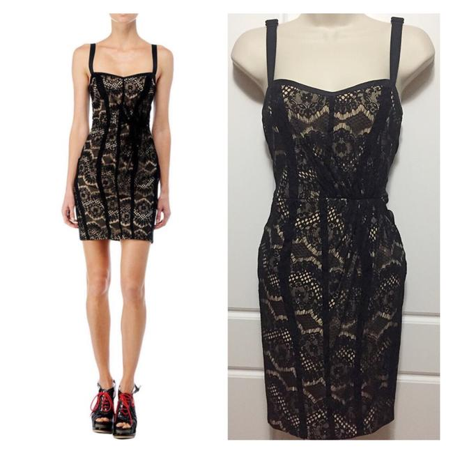 Item - Black Nude Hadleigh Lace Short Night Out Dress Size 4 (S)
