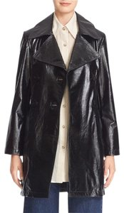 Simon Miller Double Breatsed Mid Length Leather Jacket