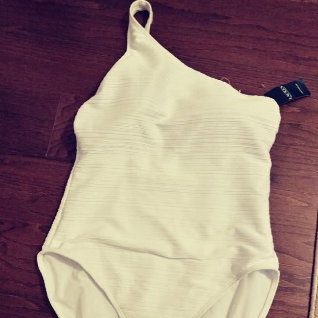 935311bb369d4 ... Lauren Ralph Lauren White one shoulder swimsuit. New with tags. Size 14  Image 1