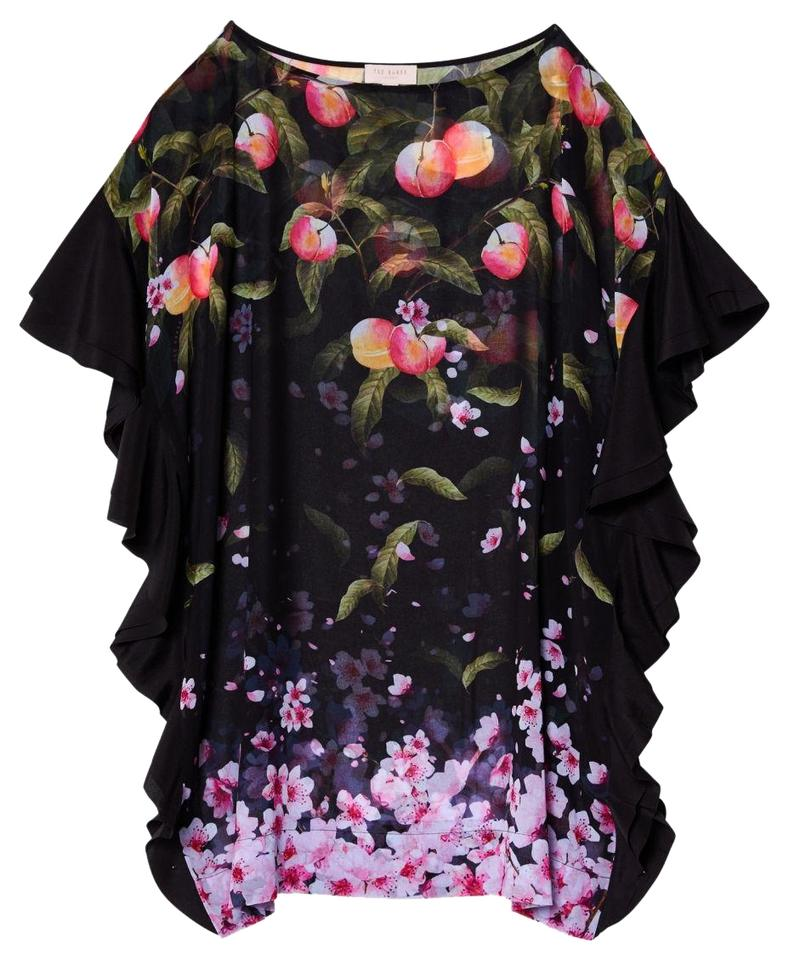 db2b25ef3 Ted Baker Ted Baker Wisela Peach Blossom Square Beach Cover Up Image 0 ...